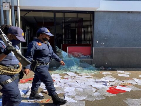 SACC Appeal for an End to Violent Protests
